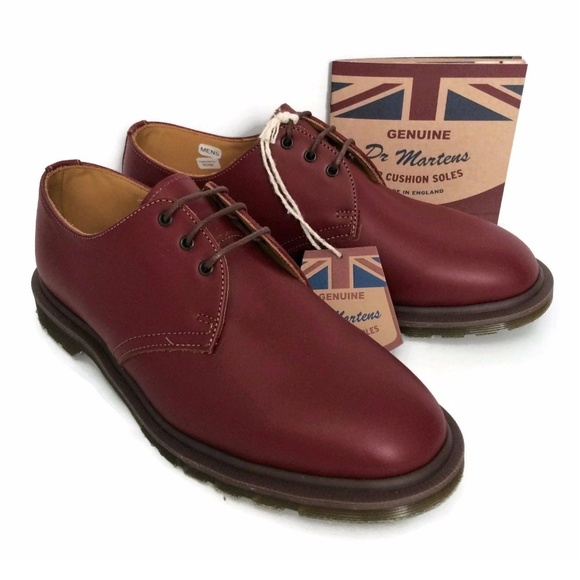 09265fdce669d Dr Martens Oxford Shoes Steed Oxblood England NWT